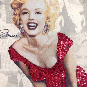 Marilyn Monroe Red Sequin Dress Handbag Purse for Sale in Anaheim, CA