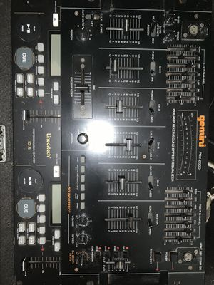 Old DJ equipment. for Sale in Queens, NY