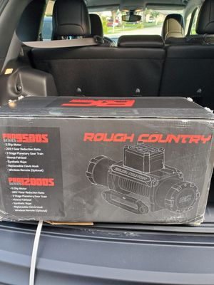 12000LB PRO SERIES ELECTRIC WINCH | SYNTHETIC ROPE for Sale in Fort Lauderdale, FL