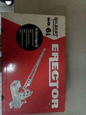 ERECTOR TOY SET 1958 GILBERT NO. 6 1/2 for Sale in Mountlake Terrace, WA