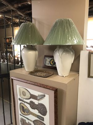 Lamps with shades for Sale in Thomasville, NC