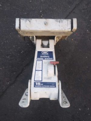 Up to a 15 hp outboard boat motor bracket for 50 obo for Sale in Vancouver, WA
