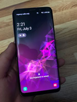 Samsung galaxy S9 Violet color for Sale in Cypress, CA