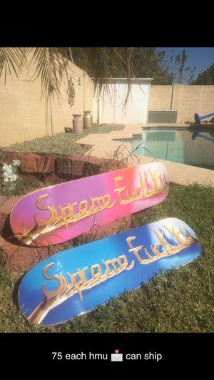 Supreme skateboard for Sale in Glendale, AZ
