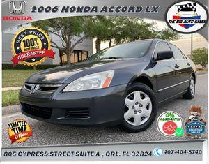 2006 Honda Accord LX 4D for Sale in Orlando, FL