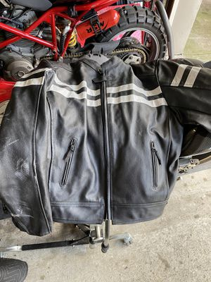 Leather Motorcycle Jacket for Sale in Jersey City, NJ