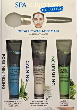 Metallic face masks with applicator for Sale in Jamul, CA
