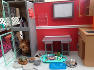 Our generation doll pet clinic for Sale in El Monte, CA
