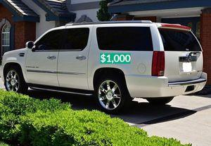Beautiful2OO8 Cadillac Escalade Wheels Cool$1.000 for Sale in Anaheim, CA
