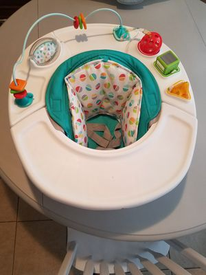 Baby activity chair for infants for Sale in Irving, TX