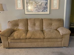 Tan Couch for Sale in Young, AZ