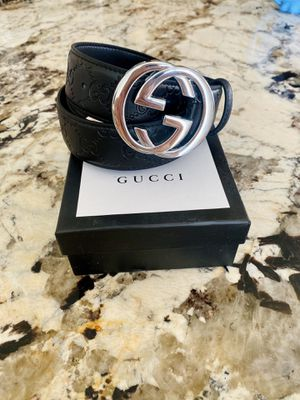 Gucci belt size 32-38 for Sale in Kent, WA