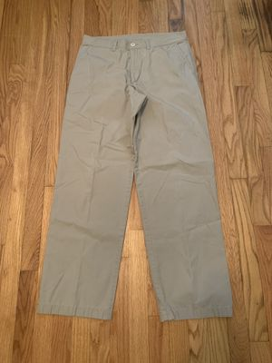 Patagonia Men's Organic Cotton Tan Beige Khaki Chino Duck Pants Size 32 x 30 for Sale in Pelham, NH