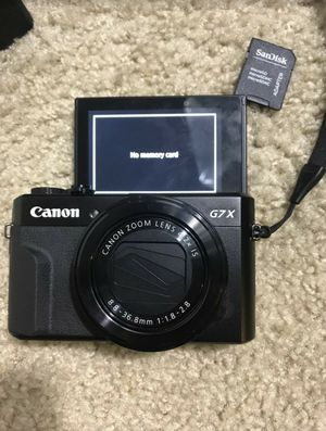 Brand New 2019 Canon g7x mark ii series for Sale in Houston, TX