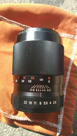 mamiya/sekor 135mm 1:2.8 camera lens for Sale in Aurora,  CO