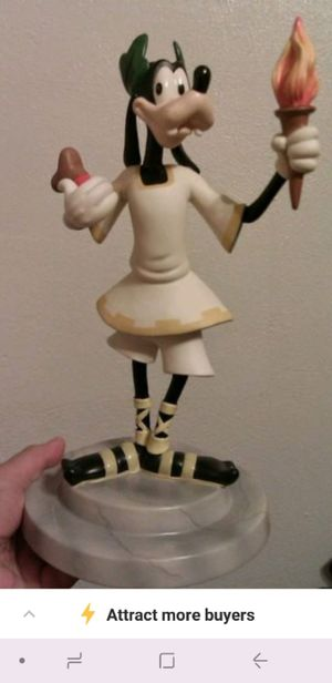 Collectible Goofy Statue Ceasar. for Sale in Dallas, TX