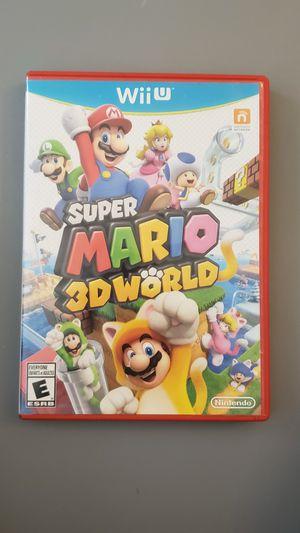 Super Mario 3D World - Nintendo Wii U for Sale in Mesa, AZ