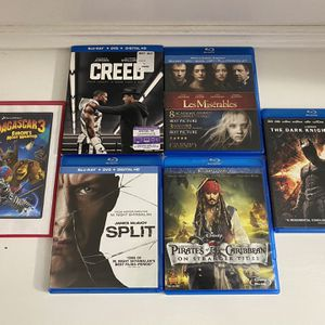 Blu-ray Movie Lot for Sale in Katy, TX