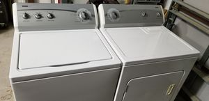 Whirlpool washer and dryer set for Sale in Bartow, FL