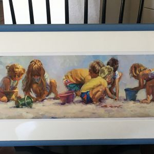 Art print, numbered and signed by Lucelle Raad for Sale in Fort Lauderdale, FL