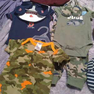 Baby Clothes Sneakers And Slippers Size 3 To 6 for Sale in Revere, MA