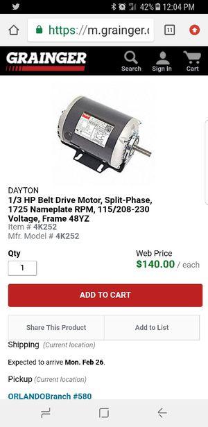 Dayton Electric Motor for Sale in Orlando, FL