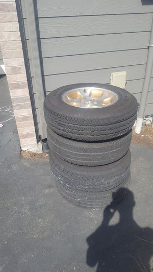 225/75r16 jeep wheels for Sale in Kent, WA