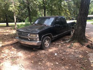 Chevy truck for parts. Insides are burned to nothing. for Sale in Conroe, TX