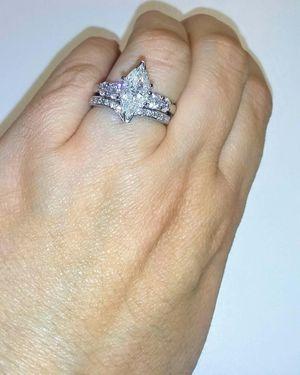 2.80 carat diamond ring set for Sale in Atlanta, GA