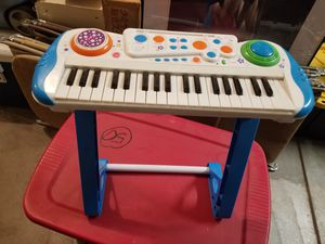 Kids piano with stand for Sale in Clovis, CA