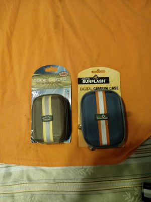 $12 a piece Over a hundred all colors Digital camera cases along with leather phone cases and leather camera cases for Sale in Oakland, CA