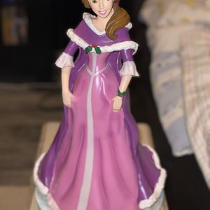 "Belle, Beauty And The Beast , 14.5"" Tall Figurine, $100, Base Is 8"" Across, Glitter Accents for Sale in Tampa, FL"