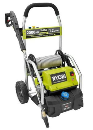 RYOBI 2,000 PSI 1.2 GPM Electric Pressure Washer for Sale in Westminster, CA