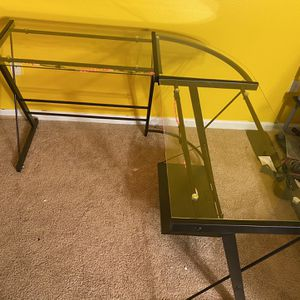 L Shaped Light Up Desk for Sale in Durham, NC
