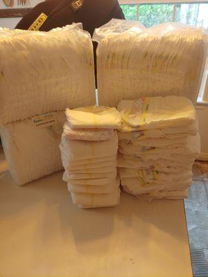 Pamper brand newborn size for Sale in Houston, TX
