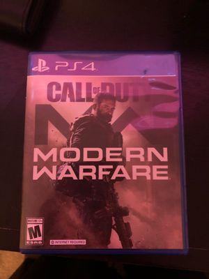 Modern Warfare (PS4) for Sale in Patterson, CA