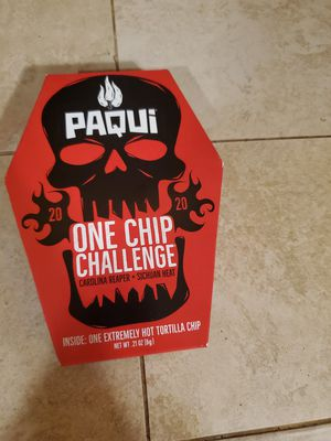 paqui one chip challenge! for Sale in Clovis, CA