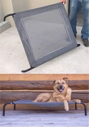 New in box levitating dog pet cot bed 44x32x7 inches tall 110 lbs capacity cuna de perro for Sale in Covina, CA