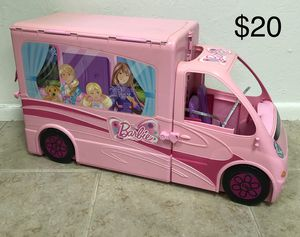 Barbie Doll Bus Camper RV for Sale in Tempe, AZ