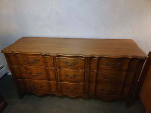 White Fine Furniture 9 drawer bureau (with mirror not pictured) for Sale in Fairless Hills, PA