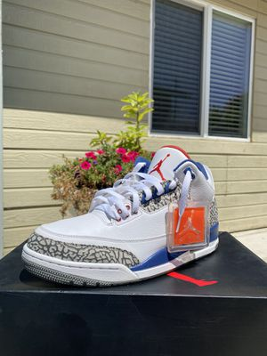 "JORDAN 3 RETRO ""TRUE BLUE"" for Sale in Huntington Beach, CA"