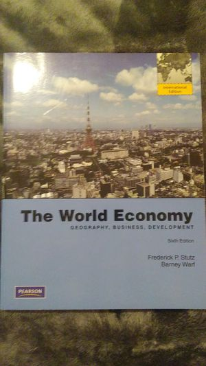 The World Economy 6th edition for Sale in Gassaway, WV