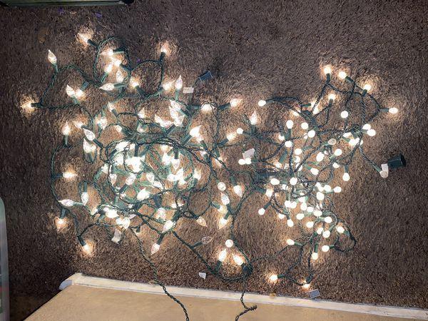 7.5 Christmas Tree with Decorations and Lights 84 balls 9 icicles and 1 star 170 lights Save Big!!!