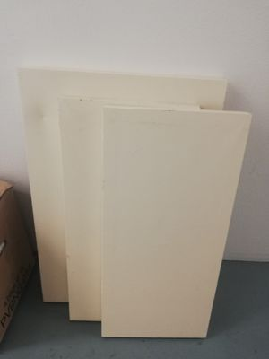 blank canvases. painted beige for Sale in Los Angeles, CA