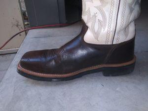 Botas usadas para trabajo tony lama del 11.5 punta de fierro buenas condiciones for Sale in El Paso, TX