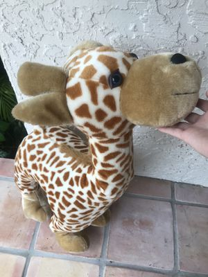 Giant Giraffe Stuffed Animal Plush Toy for Sale in Coral Springs, FL
