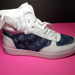 Louis Vuitton denim sneakers for Sale in Raleigh,  NC