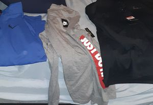 Size large polo to nike to nautica for Sale in Depew, NY