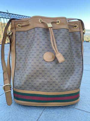 Gucci vintage Bucket Bag for Sale in La Cañada Flintridge, CA