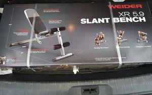 Slant Bench & 40lb Dumbbell Set for Sale in Madera, CA
